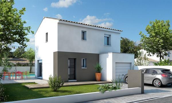 Maison  4 pièces + Terrain 300 m² Saint-André-de-Sangonis par ZIGLIANI BATISSEUR - AGENCE DE MONTPELLIER