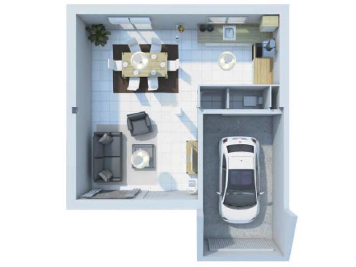 Maison  5 pièces + Terrain 421 m² Lanvallay par VILLADEALE SAINT BRIEUC