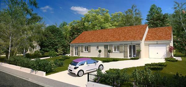 Maison  6 pièces + Terrain Le Neubourg par maison pierre