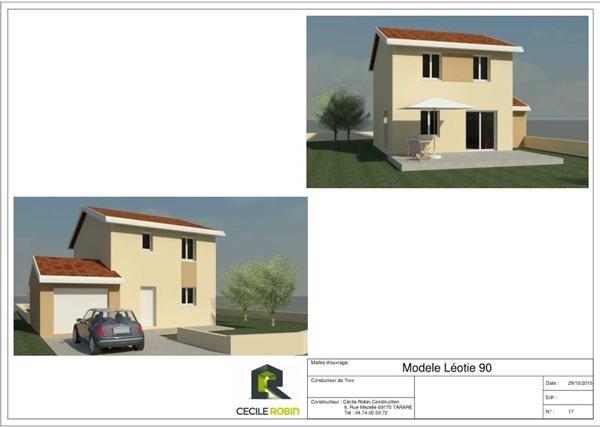 Maison  4 pièces + Terrain 480 m² Belleville (69220) par IMMOBILIER CECILE ROBIN