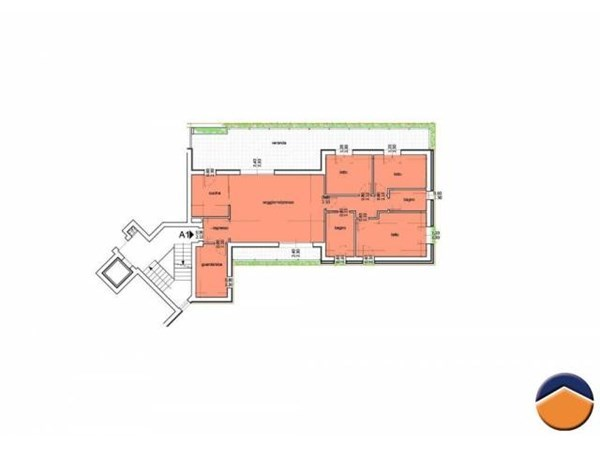 Vente Appartement 5 pièces 119m² Cagliari