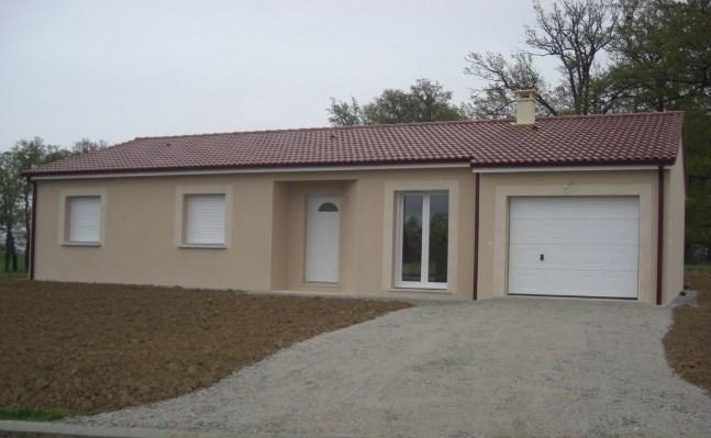 Maison  4 pièces + Terrain 94 m² Conques-sur-Orbiel par maisons coté soleil
