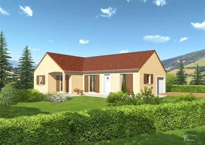 Maison  5 pièces + Terrain 800 m² Aubigny en Plaine par Top Duo Dijon