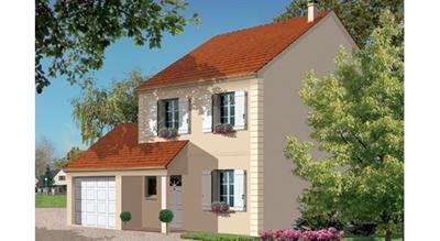 Maison  4 pièces + Terrain 1500 m² Béhoust par L.D.T BOIS D'ARCY