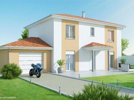 Maison  4 pièces + Terrain 789 m² Guéreins par MAISONS AXIAL