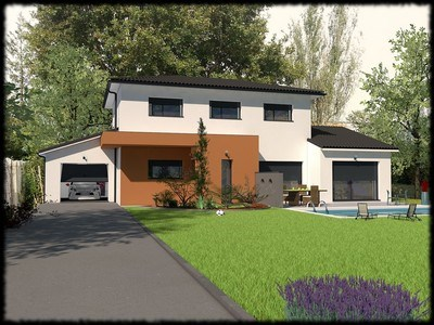 Maison  5 pièces + Terrain 602 m² Deyme par LES BASTIDES LAURAGAISES