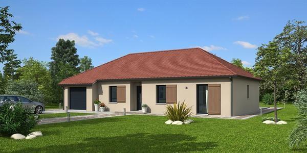 Maison  3 pièces + Terrain 450 m² Treux par MAISONS NATILIA