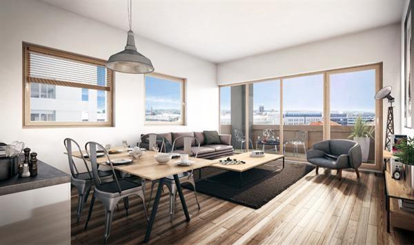 City loft programme immobilier neuf lyon 3 me propos par bouygues immo - Loft design immobilier ...