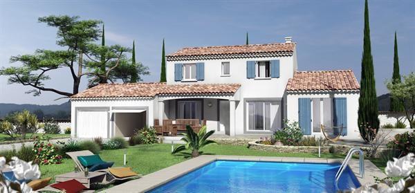 Maison  6 pièces + Terrain 1100 m² Cornillon-Confoux par VILLAS TRIDENT SALON DE PROVENCE