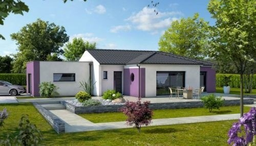 Maison  4 pièces + Terrain 614 m² Maclas par PAVILLONS CREATION SALAISE