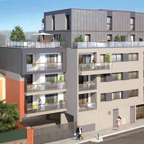 art lettres programme immobilier neuf rennes propos par kaufman broad. Black Bedroom Furniture Sets. Home Design Ideas