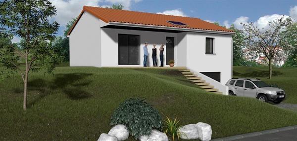Maison  4 pièces + Terrain 760 m² Sayat (63530) par TRADIMAISONS