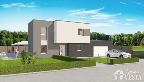 Maison  5 pièces + Terrain 579 m² Roussy-le-Village par VESTA ESPACES