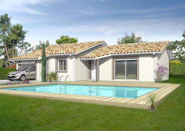 Mod le de maison partir de 3pi ces par immo construction for Modele maison immo construction