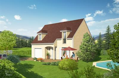Maison  5 pièces + Terrain 550 m² Saint Usage par Top Duo Dijon