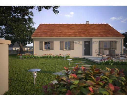 Maison  5 pièces + Terrain 570 m² Lèves par MAISONS D'EN FRANCE