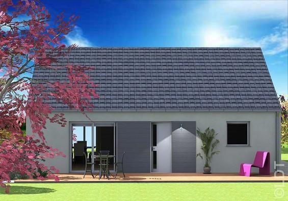 Maison  3 pièces + Terrain 600 m² Puzeaux par L.D.T AMIENS