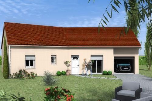 Maison  5 pièces + Terrain 1400 m² Toutry par MAISONS LENAC