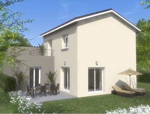 Maison  5 pièces + Terrain 400 m² Lucenay par TRADICONFORT 69