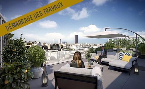Programme neuf Paris 14ème - Latitude 14