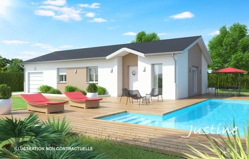 Maison  4 pièces + Terrain 400 m² Jonage (69330) par BATI EST