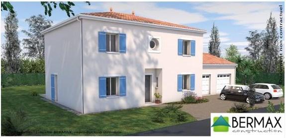 """Modèle de maison  """"Modèle de maison 5 pièces"""" à partir de 5 pièces Charente par BERMAX CONSTRUCTION"""
