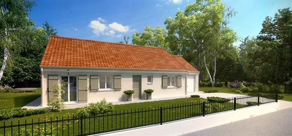 Maison  5 pièces + Terrain 1200 m² Courbépine par maison pierre
