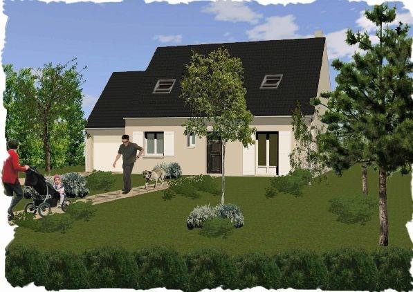 """Modèle de maison  """"ROSE 5 pièces"""" à partir de 5 pièces Seine-et-Marne par CARON CONSTRUCTION"""