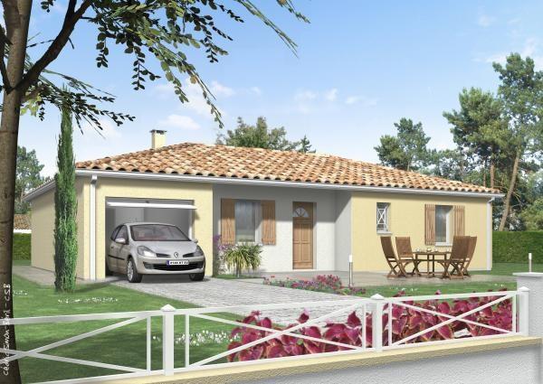 Maison  4 pièces + Terrain Muret par MAISONS CLAIR LOGIS TOULOUSE-SUD