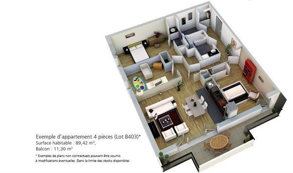 plan appartement bouygues