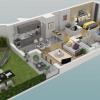 Новостройкa - Programme - Le Chesnay - Plan 3D Lot 114 T3 - Photo