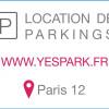 Vermietung - Parkplatz/Box 18 Zimmer - 14 m2 - Paris 12ème