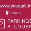 Vermietung - Parkplatz/Box 15 Zimmer - 12 m2 - Paris 12ème