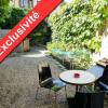 Produit d'investissement - Immeuble - 185 m2 - Saint Genis Laval - Cour t2duplex rez-de-chaussée - Photo