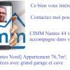 Revenda - Apartamento 4 assoalhadas - 76 m2 - Nantes - Photo