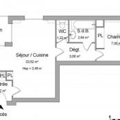 Valenciennes, Apartamento 2 assoalhadas, 40,91 m2