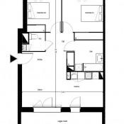 Saint Médard en Jalles, Appartement 3 pièces, 64 m2