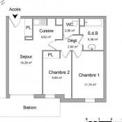 location Appartement 3 pièces Saint Brice sous Foret