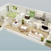 vente Appartement 3 pièces Guyancourt