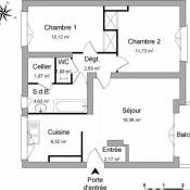 Montgeron, Apartamento 3 assoalhadas, 56,91 m2