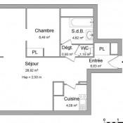 Toulouse, Apartamento 2 assoalhadas, 55 m2