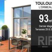 Toulouse, Appartement 4 pièces, 93 m2