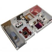 Maison 4 pièces + Terrain Moreuil