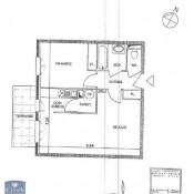 Belley, Appartement 2 pièces, 45,94 m2