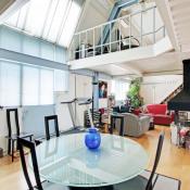 Paris 13ème, Loft 3 assoalhadas, 124,83 m2