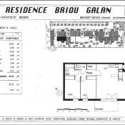 Béziers, Apartment 3 rooms, 62 m2