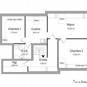 Vouziers, Apartment 3 rooms, 61.28 m2