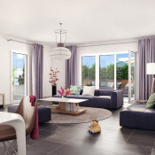 Fondettes, Appartamento 3 stanze , 67 m2