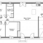 Maison 3 pièces + Terrain Libourne (33500)