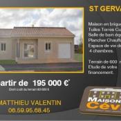 Maison 5 pièces + Terrain Saint-Gervais-sur-Roubion